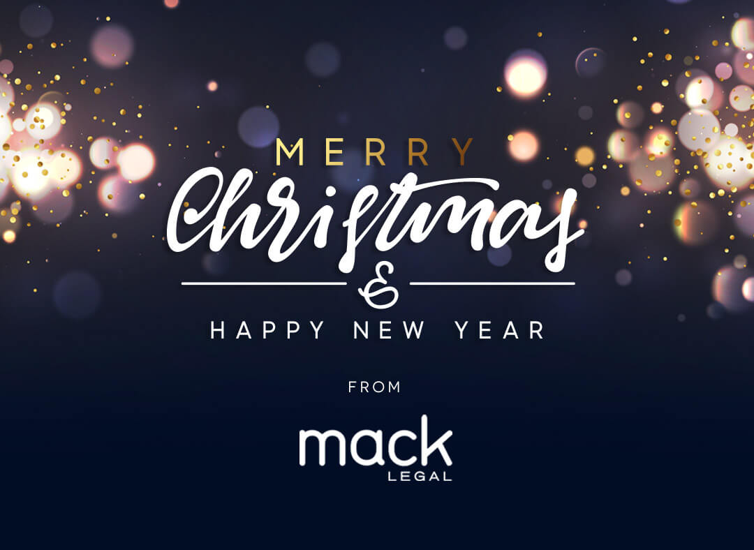Merry Christmas From All The Team At Mack Legal
